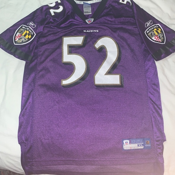 Ravens Ray Lewis youth XL 18/20 jersey #52
